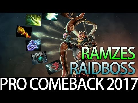 7.04 Raidboss Ramzes Epic Comeback Dota 2 Medusa 8 Slot High-End Item