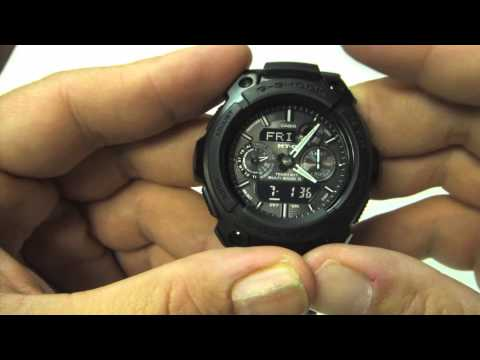 Review of Casio G-Shock MTG1500B Analog Digital Watch