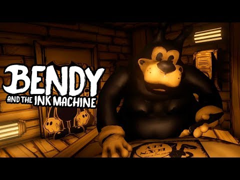 WHAT HAPPENED TO BORIS?! | Bendy and the Ink Machine Downward Fall (ENDING) (видео)