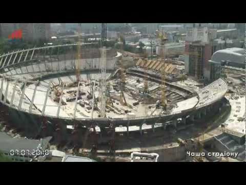Construcción del estadio