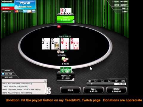 Simple winning poker strategy