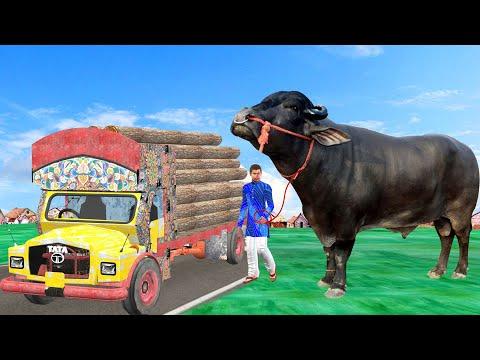 विशाल भैंस वाला और किसान Giant Buffalo Wala Comedy Video हिदी कहानिय Hindi Kahaniya Comedy Video
