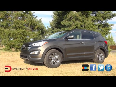 2014 Hyundai Santa Fe Sport Review on Everyman Driver