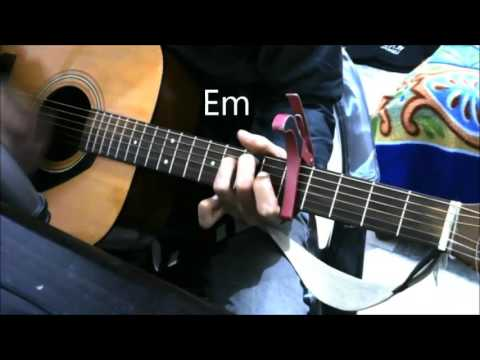 Khamoshiyan – Arijit Singh – With and Without Capo – GUITAR COVER LESSON CHORDS EASY BEGINNERS