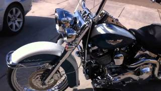 10. 2005 Harley davidson soft tail deluxe chromed out