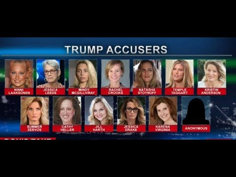 Details of All 13 Women Who Have Accused Trump of Sexual Harassment