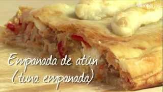 Spanish tuna empanada