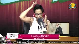 Francisco Sanchis comenta sobre la inauguración del corazón de la navidad en Santiago