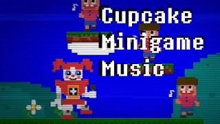 Five Nights at Freddy's Sister Location cupcake minigame music extended (Both versions)