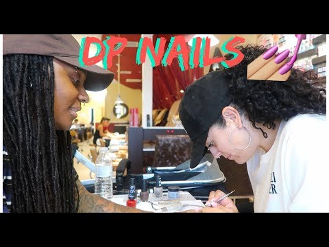 We took over the nail salon !!! Liana does Chrys nails  [HILARIOUS]