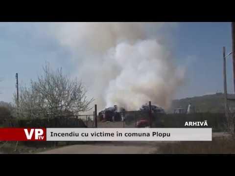 Incendiu cu victime în comuna Plopu