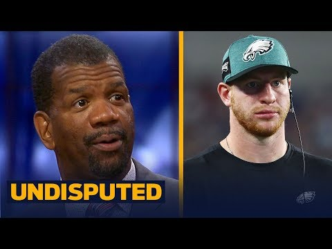Rob Parker on Wentz and the Eagles after their preseason loss to the Patriots   NFL   UNDISPUTED (видео)