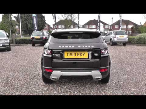 Land Rover RANGE ROVER EVOQUE 2.2 SD4 Dynamic 5dr Auto [Lux Pack] U9296
