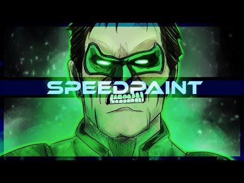 Lanterna Verde SpeedPaint on PSD - Thời lượng: 10 phút.