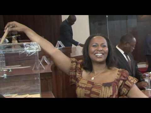 COTE D IVOIRE : Réélection du président de l'Assemblée Nationale