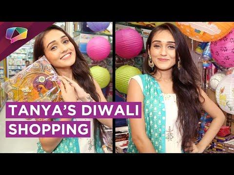 Tanya Sharma's Diwali Shopping