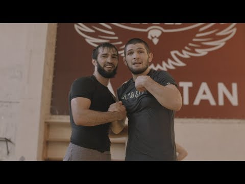 (The Dagestan Chronicles)  Khabib Nurmagomedov & Zubaira Tukhugov Grapple - Episode 5