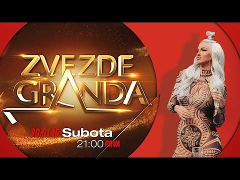 ZVEZDE GRANDA 2016 – devetnaesta emisija – 30. 01. – najava