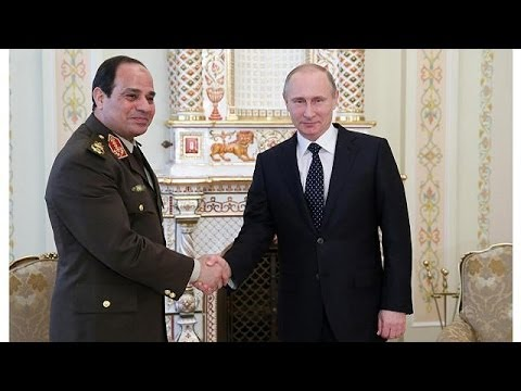 Russia's Putin gives supports to Sisi's bid for Egypt presid