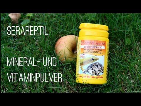 Serareptil Mineral- uns Vitaminpulver   Unboxing, Test und Produktempfehlung