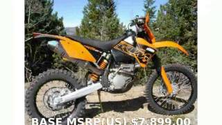 1. 2013 KTM XC 250 F -  Features Dealers Details Top Speed Specs Transmission Specification