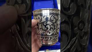 Стакан серебряный «Краса»