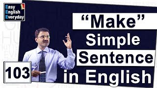 Video How to make a sentence in English|Excellent communication skills|Free spoken English learning videos MP3, 3GP, MP4, WEBM, AVI, FLV Juli 2018