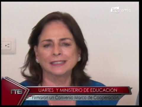 Uartes y Ministerio de Educación firmaron un convenio Marco de Cooperación