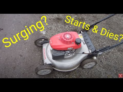 Lawnmower Repair: How to stop your lawnmower from surging