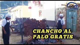 CHANCHO AL PALO