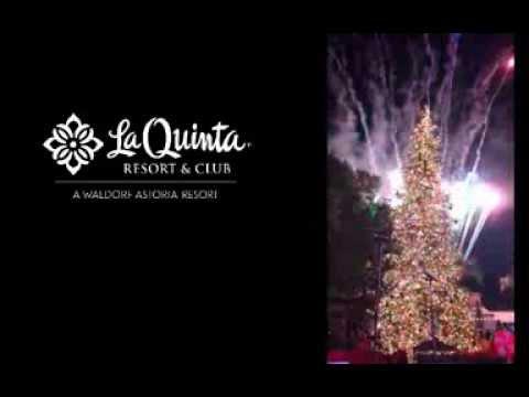 La Quinta Resort & Club Holiday Tree Lighting 2013
