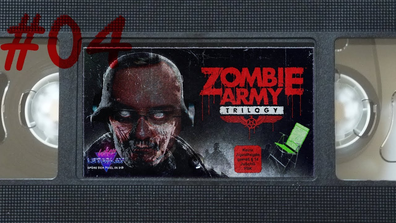 #04 - Bibliothek des Bösen | Let's Play Together Zombie Army Trilogy