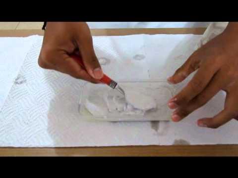 Como hacer un molde de yeso (Practica 1 Procesos de Manufactura)