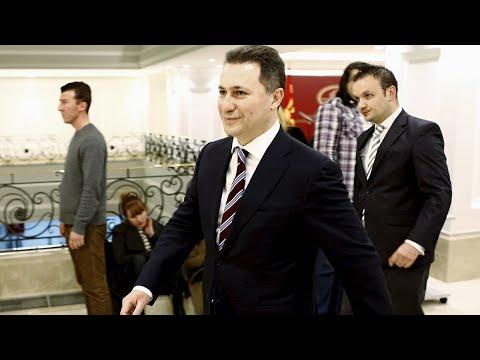 ΠΓΔΜ: Ένταλμα σύλληψης κατά Γκρουέφσκι