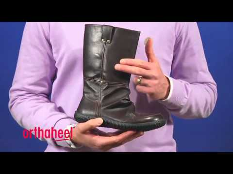 Orthaheel Nell Boots with Removable Orthotic Footbeds