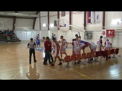 "1 kolo Play off KK ""Radnicki 1950″ – KK ""Zeleznicar"" 96:93"