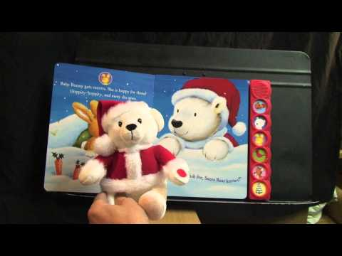 international publications - This talking plush Santa bear swaps lines of narration with a specialized six page printed book (and vice-versa). It might further blur a child's conception ...