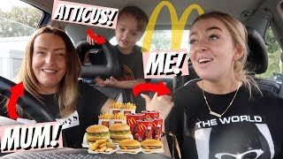 Video FAMILY MCDONALDS MUKBANG! Travelling & Eating lots of food... (whats new!) MP3, 3GP, MP4, WEBM, AVI, FLV Agustus 2018