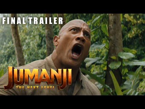 Jumanji: The Next Level | Final Trailer | Dwayne Johnson | Karen Gillan | Kevin Hart | Jack Black