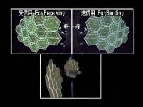 宇宙機分離変形シーン集(だいち・きく8・きずな・いぶき)