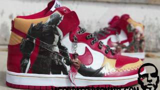 Kratos Kicks: God of War shoes!! +intvw w/ director Stig Asmussen - YouTube