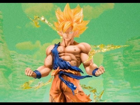 Bandai Tamashii Nations FIGUARTS ZERO Dragon Ball Z SUPER SAIYAN Son Goku / Gokou Figure Review