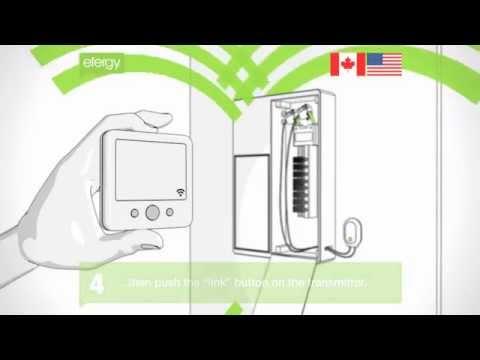 Efergy electricity monitor installation