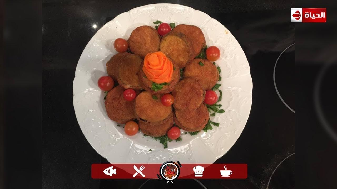 """المطبخ - لو الفراخ البانية غالية ممكن تجرب """" بانية الباذنجان""""  مع الشيف أسماء مسلم"""