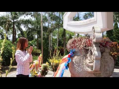 Tiến sĩ, Đại đức Thích Trúc Thái Minh - Trụ trì Chùa Ba Vàng phát biểu về chương trình tri ân liệt sĩ do Tạp chí Trí thức và Phát triển thực hiện