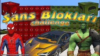 Örümcek Çocuğun düzenlediği Minecraft şans blokları challenge Örümcek Adam ve Hulk ile devam ediyor. Bu Minecraft macerasında Örümcek Adam ile Hulk kapışacak ve galip gelen Lamborghini süper araba kazanacak. Örümcek Çocuk üzerinde Örümcek Adam ve Hulk olan şans blokları hazırlamış bu sefer. MİNECRAFT ŞANS BLOKLARI ÖNCEKİ YARIŞMALARJoker vs Venom Minecraft'ta Kapışıyorhttps://www.youtube.com/watch?v=hnXmTEor4KcOptimus Prime vs BumbleBee Minecraft'ta Kapışıyorhttps://www.youtube.com/watch?v=F-akse5YLeIDİĞER MİNECRAFT MACERALARIJoker Minecraft'ta Örümcek Çocuğun Evini Patlattıhttps://www.youtube.com/watch?v=oWqPDNhrLeIÖrümcek Çocuk Minecraft'ta Jokeri Çıkarmaya Gidiyorhttps://www.youtube.com/watch?v=S8SHa2D7sC4YENİ VİDEOLARI KAÇIRMAMAK İÇİN BURADAN ABONE OLABİLİRSİNİZ (Ücretsiz) https://www.youtube.com/channel/UCIydQffIBA0Hrey3NpZwA-g?sub_confirmation=1- EN SEVİLEN ÖRÜMCEK ADAM ÇİZGİ FİLMLERİ BURADAN İZLEhttps://goo.gl/h5dyKM- KANALIMIZDAKİ DİĞER VİDEOLARA BURADAN GÖZ ATINhttps://goo.gl/lKnCilÖrümcek Adam Şimşek McQueen ve Örümcek Çocuk hayranlarından biriyseniz ve çizgi film izlemek hoşunuza gidiyorsa kanalımıza aşağıdaki linkten ücretsiz üye olarak siz de aramıza katılabilir ve yeni bölümleri kaçırmadan izleyebilirsiniz.ABONE OL: https://goo.gl/lBiwX6