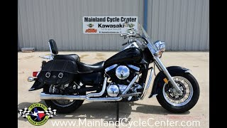 4. For Sale $3,499:  2005 Kawasaki Vulcan 1500 Classic FI Overview and Review