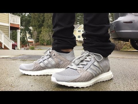 "Adidas Pusha T EQT Ultraboost Unboxing & On Feet!! ""King Push"""
