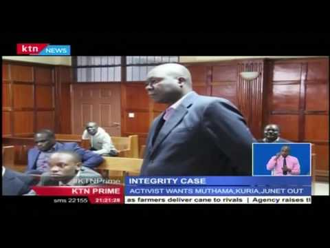 A man is seeking the three legislators charged with hate speech from being in the IEBC dialogue team