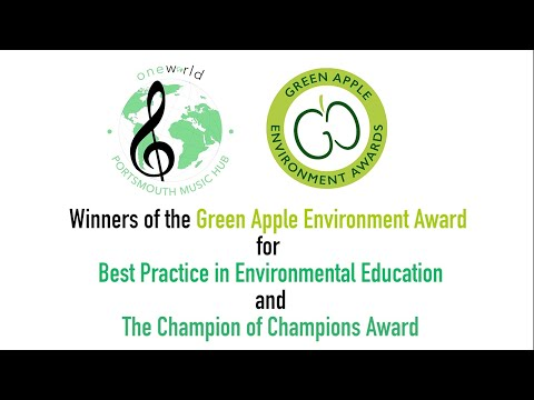 The Green Apple Environment Awards – One World Choir